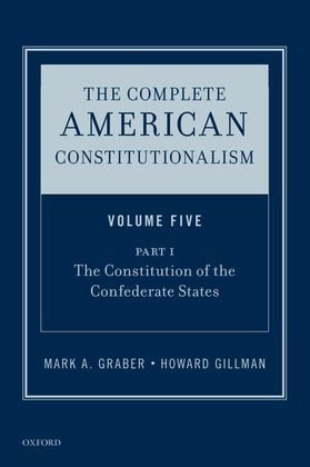 The Complete American Constitutionalism, Volume Five, Part I