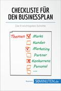 Checkliste für den Businessplan