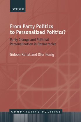 From Party Politics to Personalized Politics?