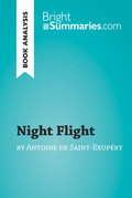 Night Flight by Antoine de Saint-Exupéry (Book Analysis)
