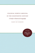 Colonial North Carolina in the Eighteenth Century