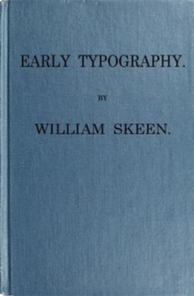 Early Typography