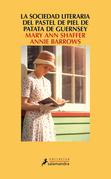 La sociedad literaria y del pastel de piel de patata Guernsey