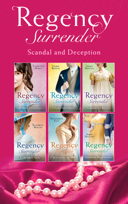 Regency Surrender: Scandal And Deception (Mills & Boon e-Book Collections)