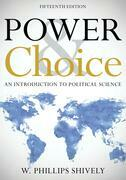 Power & Choice