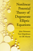 Nonlinear Potential Theory of Degenerate Elliptic Equations