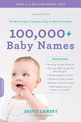 100,000 + Baby Names