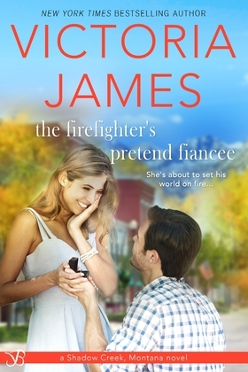 The Firefighter's Pretend Fiancee (A Sweet Popular Romance)