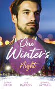 One Winter's Night: The Twelve Dates of Christmas / Frozen Heart, Melting Kiss / A Cadence Creek Christmas (Mills & Boon M&B)