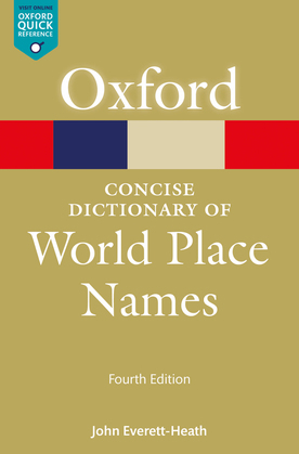 The Concise Dictionary of World Place-Names
