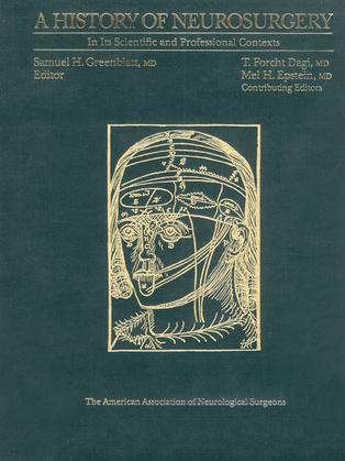 A History of Neurosurgery