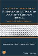 The Clinical Handbook of Mindfulness-integrated Cognitive Behavior Therapy