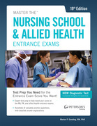 Master the Nursing School & Allied Health Exams