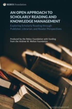 An Open Approach to Scholarly Reading and Knowledge Management