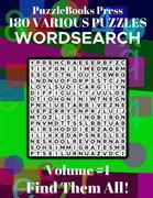 PuzzleBooks Press - WordSearch - Volume 1
