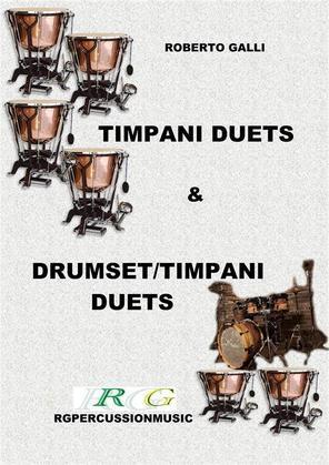 Timpani duets & Timpani/drumset duets