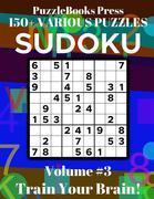 PuzzleBooks Press Sudoku - Volume 3