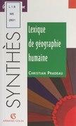 Lexique de géographie humaine