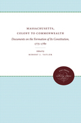Massachusetts, Colony to Commonwealth