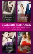 Modern Romance December Books 1-4: The Italian's Inherited Mistress / The Billionaire's Christmas Cinderella / An Innocent, A Seduction, A Secret / Claiming His Christmas Wife