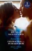 Bound To The Sicilian's Bed: Bound to the Sicilian's Bed (Conveniently Wed!) / Contracted for the Petrakis Heir (One Night With Consequences) (Mills & Boon Modern)