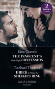 The Innocent's One-Night Confession: The Innocent's One-Night Confession / Hired to Wear the Sheikh's Ring (Mills & Boon Modern)
