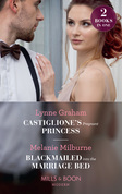 Castiglione's Pregnant Princess: Castiglione's Pregnant Princess (Vows for Billionaires) / Blackmailed into the Marriage Bed (Mills & Boon Modern)