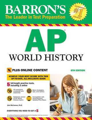 Barron's AP World History with Online Tests
