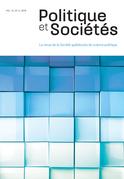 Politique et Sociétés. Vol. 37 No. 3,  2018