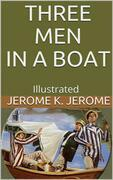 Three Men in a Boat - Illustrated