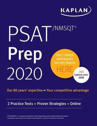 PSAT/NMSQT Prep 2020
