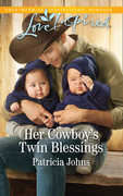 Her Cowboy's Twin Blessings (Mills & Boon Love Inspired) (Montana Twins, Book 1)