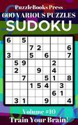 PuzzleBooks Press Sudoku – Volume 10