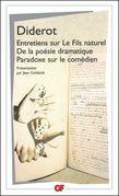 Entretiens sur Le Fils naturel - De la poésie dramatique - Paradoxe sur le comédien