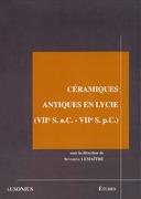 Céramiques antiques en Lycie(viie s. a.C. - viie s. p.C.)