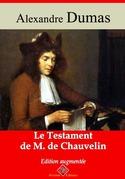 Le testament de M. de Chauvelin | Edition intégrale et augmentée