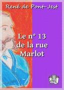 Le n° 13 de la rue Marlot