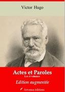 Actes et paroles (Les 4 volumes) | Edition intégrale et augmentée