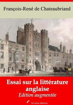 Essai sur la littérature anglaise   Edition intégrale et augmentée