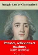 Pensées, réflexions et maximes | Edition intégrale et augmentée