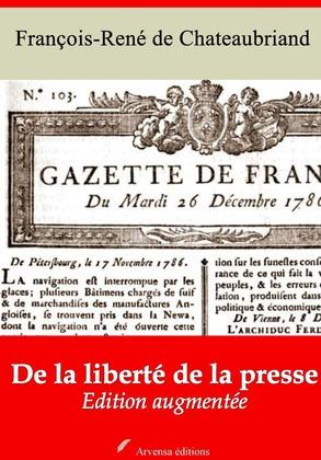 De la liberté de la presse | Edition intégrale et augmentée
