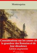 Considérations sur les causes de la grandeur des Romains et de leur décadence | Edition intégrale et augmentée