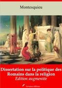 Dissertation sur la politique des Romains dans la religion | Edition intégrale et augmentée