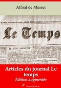 Articles du journal Le Temps   Edition intégrale et augmentée