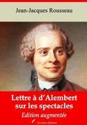 Lettre à d'Alembert sur les spectacles | Edition intégrale et augmentée