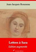 Lettres à Sara   Edition intégrale et augmentée
