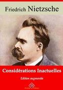 Considérations inactuelles | Edition intégrale et augmentée