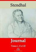 Journal tome I, II et III | Edition intégrale et augmentée