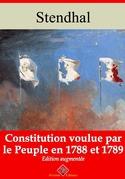 Constitution voulue par le peuple en 1788 et 89 | Edition intégrale et augmentée