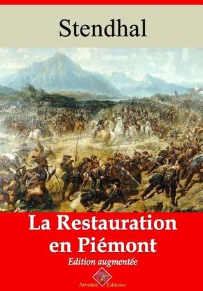 La Restauration en Piémont | Edition intégrale et augmentée